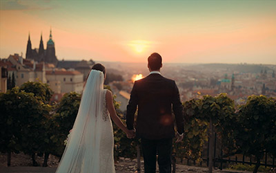 Your wedding videographer in Prague