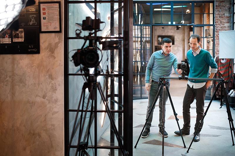 Video Crew in Prague