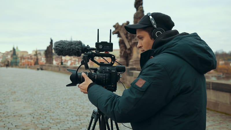 video production prague camera crew