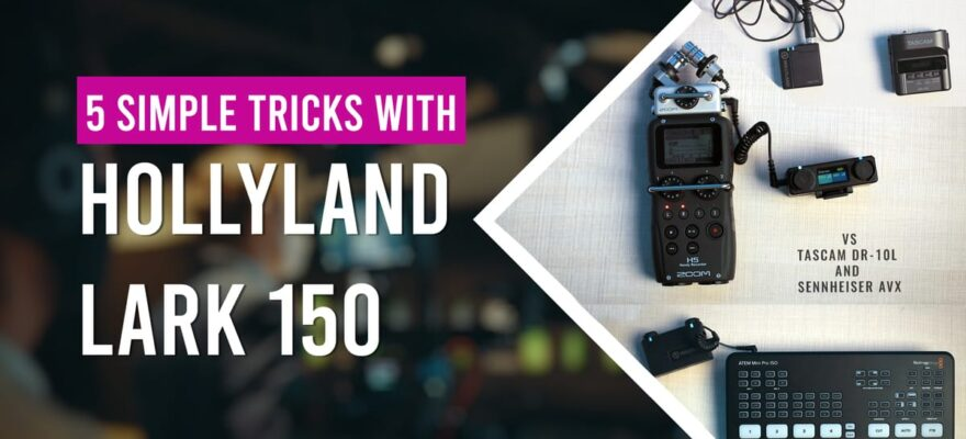 Wireless Lavalier Microphone Lark 150